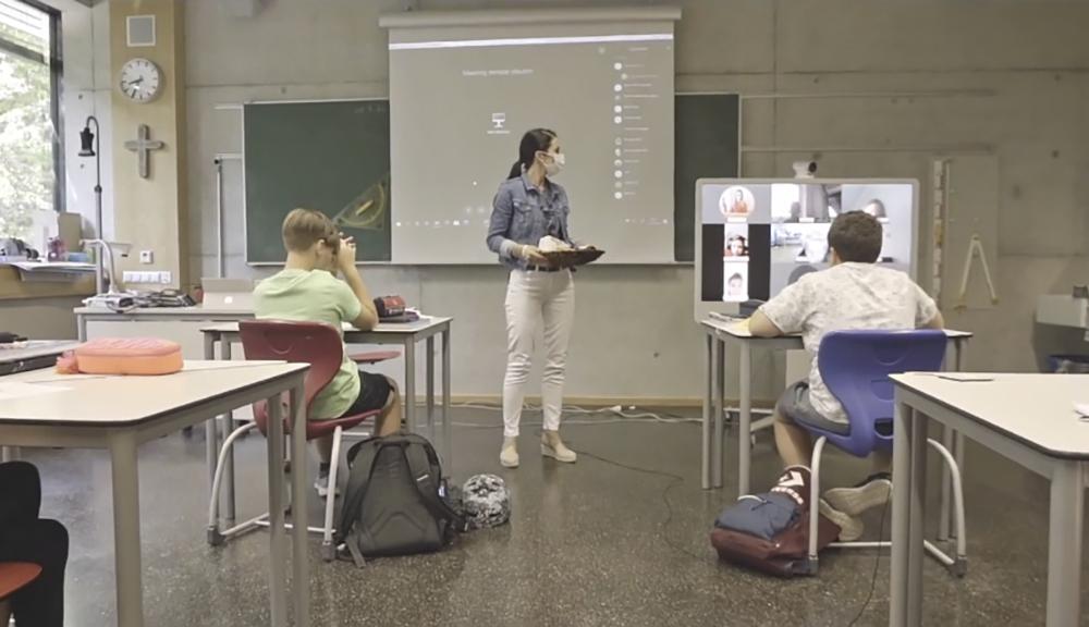 Praxisbeispiel digitale Schule - Gymnasium Straubing